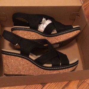 Clarks Wedges New in box